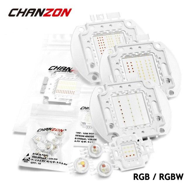 high power led lamp light bulbs rgb rgbw chip 3w 10w 20w 30w 50w 100w