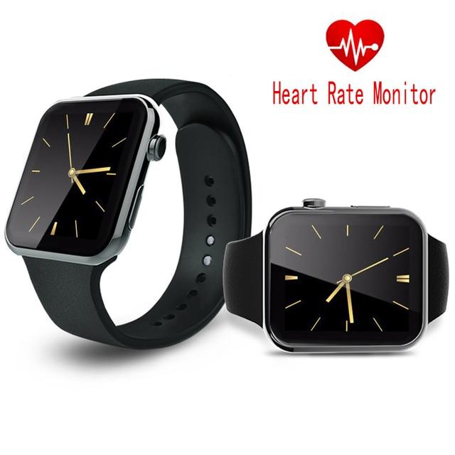 Сердечного ритма Smart Watch A9 Bluetooth Smartwatch Спорт MP3 Montre Разъем Для Apple iPhone IOS Android PK GT08 DZ09