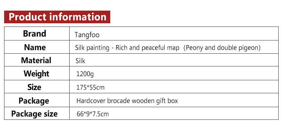Popular Brand Shaofu Scroll Paintings Wall Art Decorative Chinese Flower Painting Wall Pictures Rich Peony And Peace Pigeon Real Silk Picture Home & Garden Home Decor