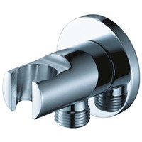 Homedec Solid Brass New Chrome Finish Hand Shower Base Wall Mount Sprayer Head Bracket Holder