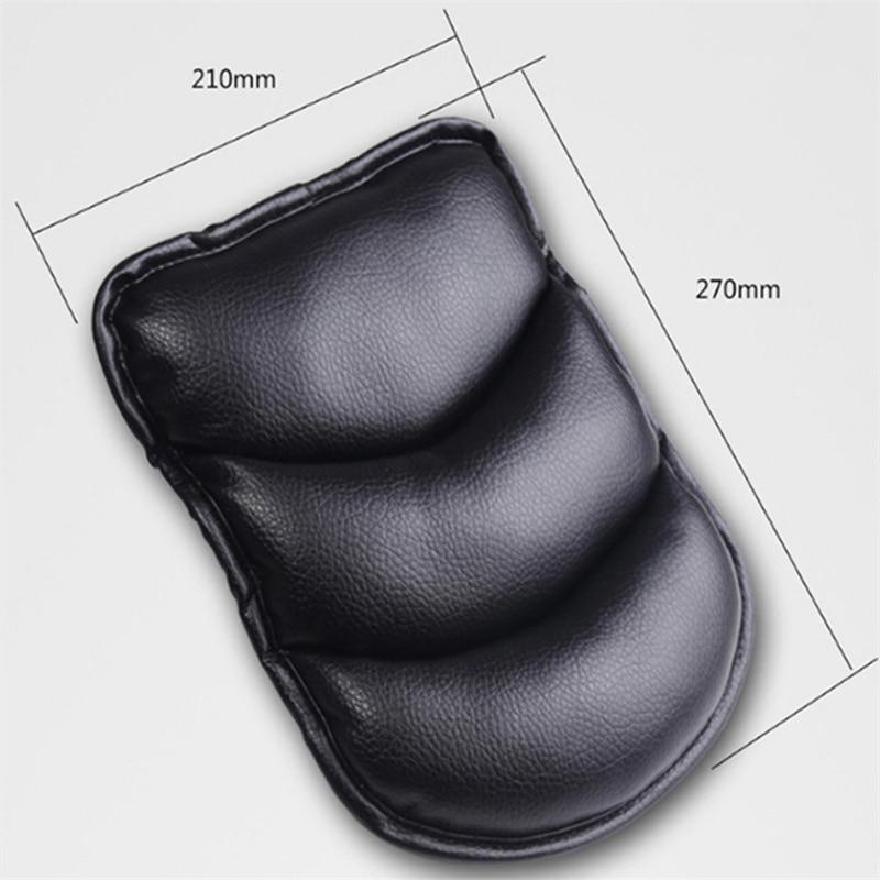 Car Center Console Arm Rest Seat Pad For Toyota Camry Highlander RAV4 Crown Reiz Corolla Vios Yaris L