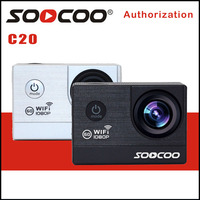 SOOCOO C20 Action Cam 1080P 60FPS Mini Camera 16MP 2 0 Screen Wifi Action Camera 30M