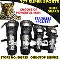 4 unids/set Motocicleta Rodilla y Codo Protector Combinación Rodilleras Protector Guardia