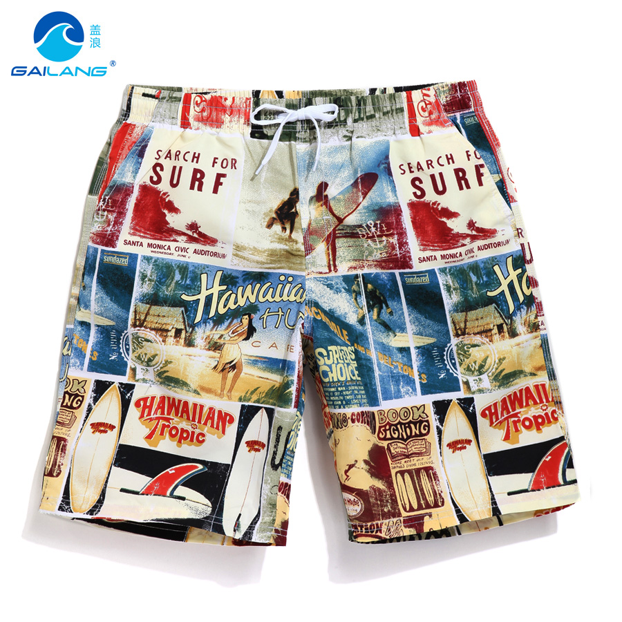 Summer board shorts men swimming trunks quick dry beach surfing joggers sweat running shrots boardshorts gym fitness brand gsou snow brand 2017 men beach shorts quick dry summer board shorts swimming surfing diving motorboat shorts maillot de bain