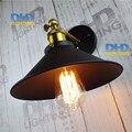 Louis Poulsen luzes scone E27 banhado Loft retro americano ferro do vintage lâmpada de parede 110 V-220 V 40 W antigo lampe industrial