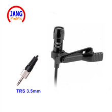 Professional Lapel Mini Condenser Microphone Lapela Microfone for Sennheiser Wireless Transmitter TRS 3.5mm Screw Jack