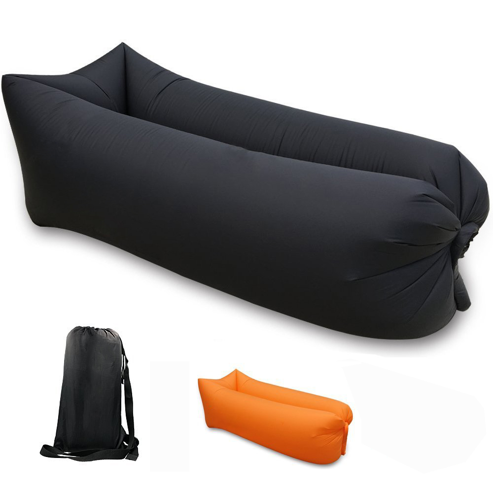 SKL Lightweight Portable Lazy Lounger Inflatable Sofa Couch for Camping, Hiking, Swimming Pool Outdoor Waterproof Air Lounger