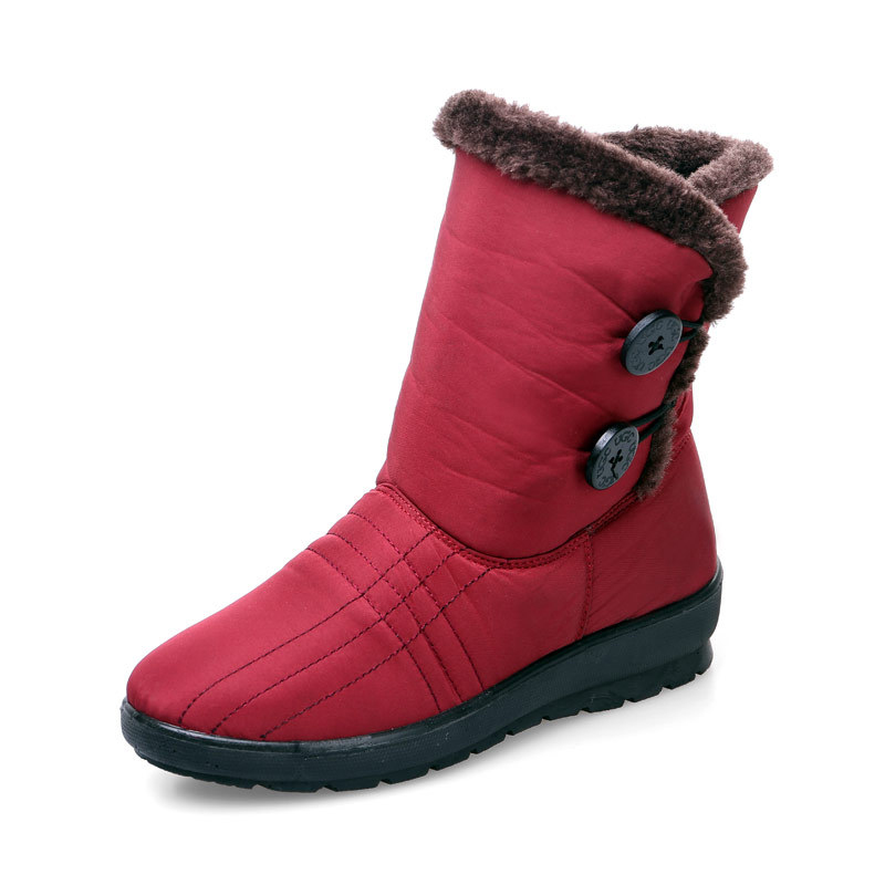 women boots 2017 winter boots woman snow boots warm fur In the tube shoes Women Large size shoes 2017 sales of the most popular hot winter boots women ug australia boots women slip warm women s boots in the snow size 34 44