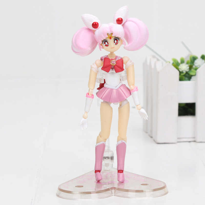 "Sailor Moon Action Figure-Chibi Lua Variante de ""Bonita The Guardian Sailor Moon"" PVC figura Brinquedos Brinquedo"