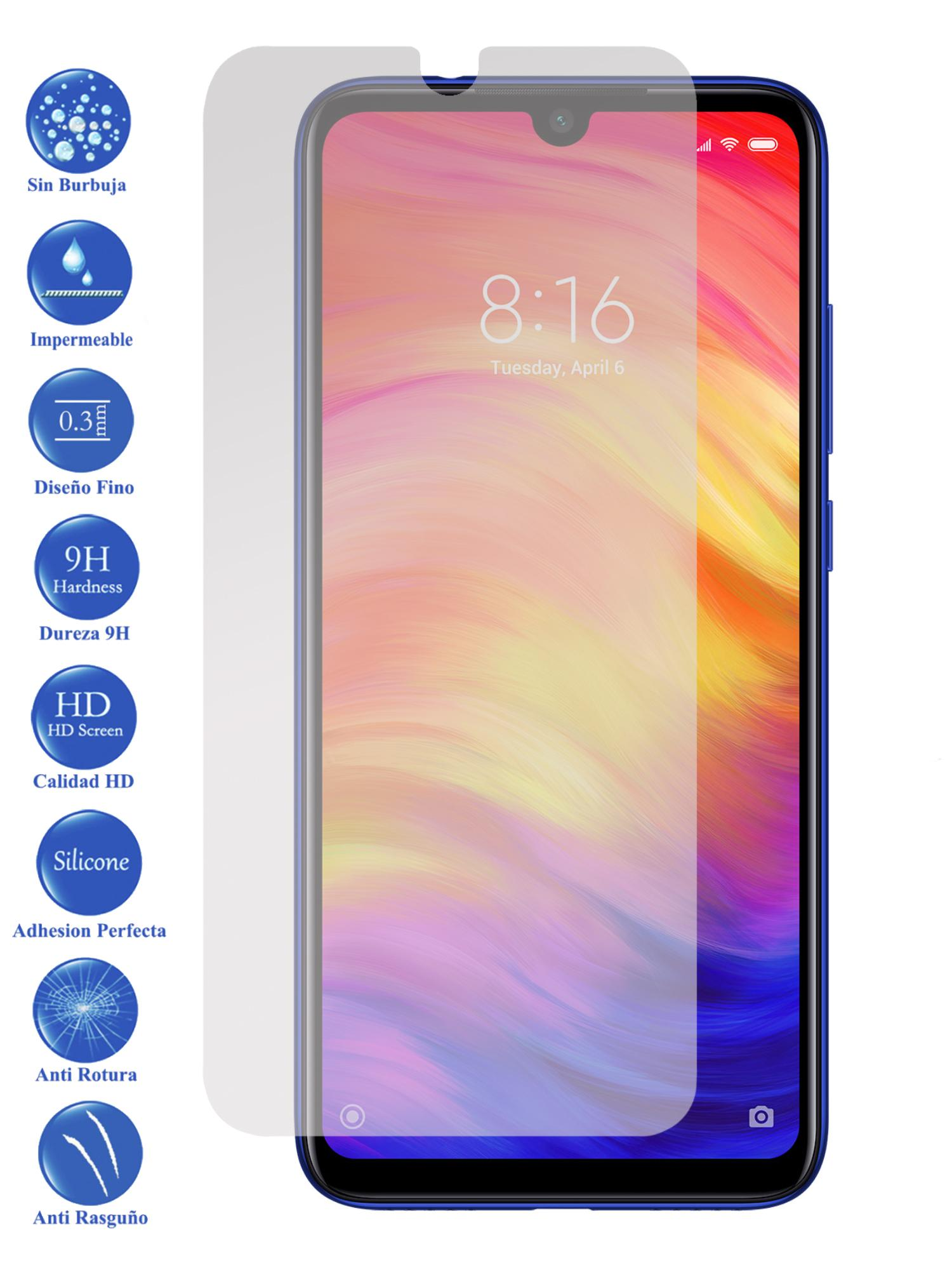 Protector De Pantalla Cristal Templado Vidrio Premium Para Xiaomi Redmi Note 7