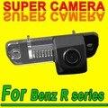Para sony ccd mercedes benz r ml gl 350 cam cámara del coche Copia de seguridad de Visión Trasera de Aparcamiento Sistema de Seguridad Del Sensor de Marcha Atrás Kit para GPS
