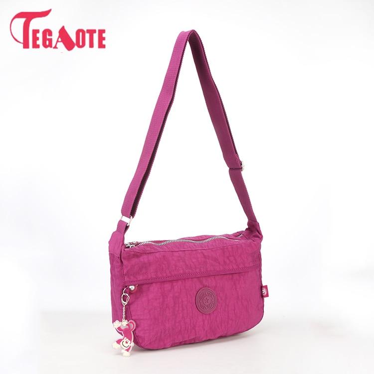 TEGAOTE Bolsa Shoulder-Bag Crossbody-Bag Travel-Bag Nylon Waterproof Fashion Women 933