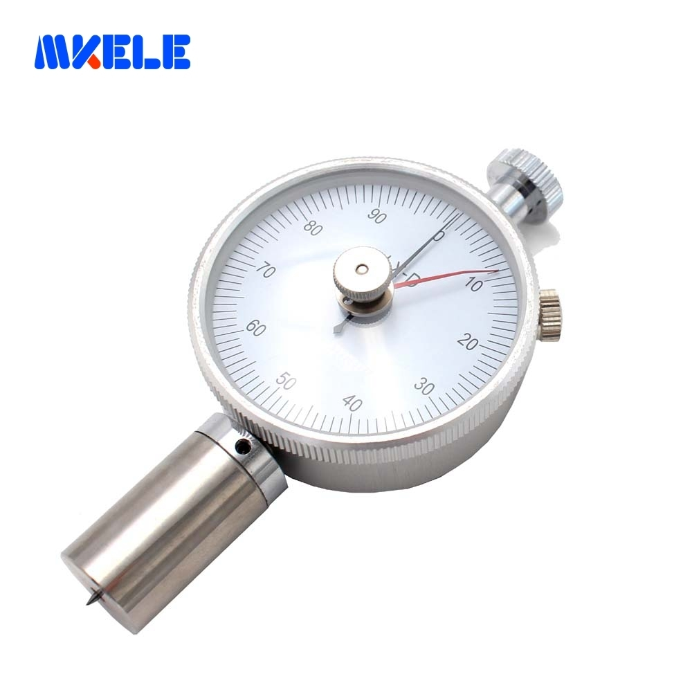 Shore Hardness Tester double needles Hardness Test Gauge LX-D-2 applicable to cushiony plastic cement, printing plates, fiber платья bonne femme платье