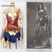 Batman V Superman Dawn Of Justice Wonder Woman Cosplay Costumes Adult Kids Diana Prince Sexy Uniforms