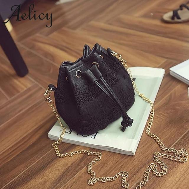 Aelicy Luxury Handbags Women Bags Designer Messenger Bags Lace PU Leather Handbag Shoulder Bags Satchel CrossBody Bag Bolsas 3