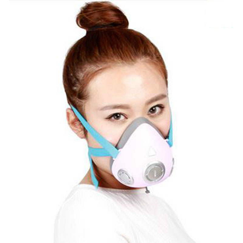 The new high quality intelligent electric dust mask electronic pm2 5 activated carbon masks anti fog
