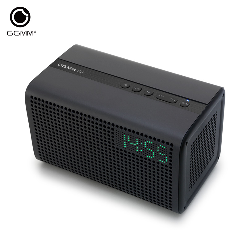 GGMM E3 Bluetooth Column Wireless Bluetooth Speaker WiFi HiFi Music Stereo Speakers for the Computer with LED Alarm Loudspeakers  цена и фото