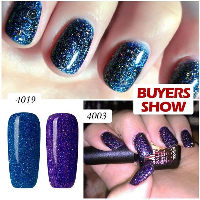 Online Shop Modelones 2017 Fashion Neon Nail Gel Polish Soak Off UV ...