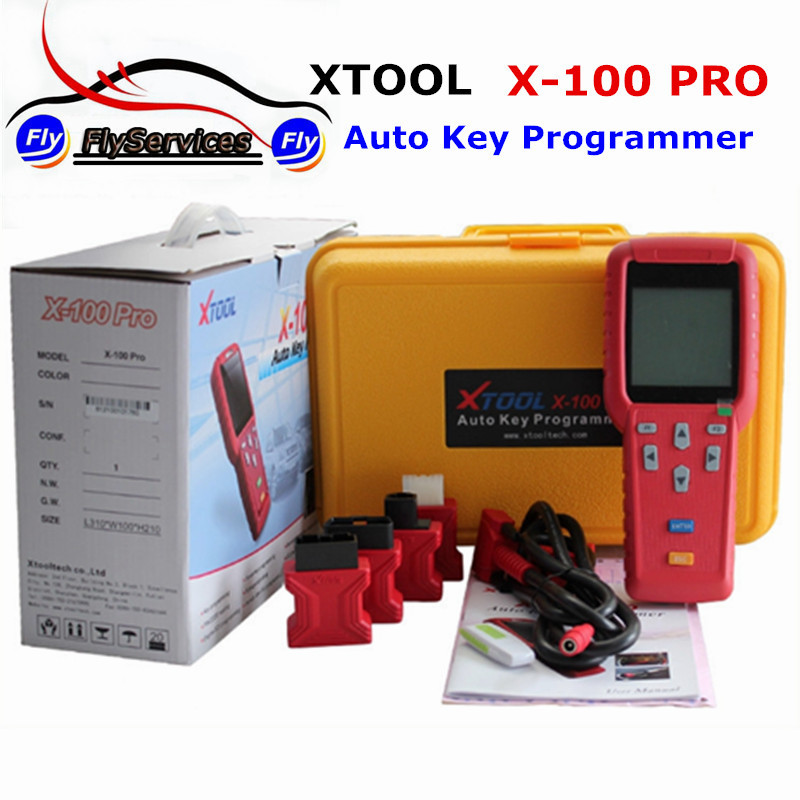 With EEPROM Adapter Xtool X100 PRO Auto Key Programmer X 100 Key Programmer IMMO & Mileage Combinations X 100 PRO Update Online
