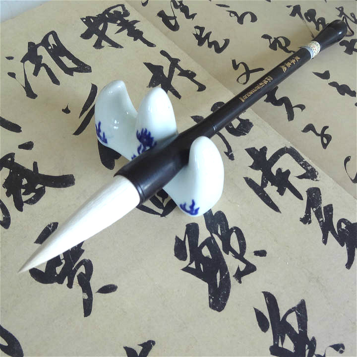 High quality RuyangLiu woolen writing brush large script cursive calligraphy brush for calligraphy lovers цена