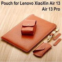Microfiber Leather Laptop Bag For Lenovo XiaoXin Air 13 Pro Laptop Case Notebook Bag Computer Bag