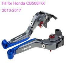 KODASKIN Left and Right Folding Extendable Brake Clutch Levers for Honda CB500F/X 2013-2017