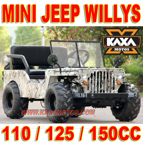 Modernistisk Mini Willys Jeep 110cc-in Crickets from Sports & Entertainment on AQ-12