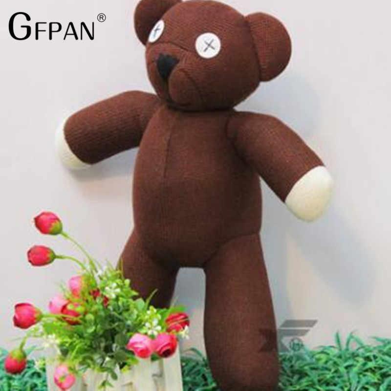 1pc 35 centimetri Genuino Mr. Bean Teddy Bear La Tattica Giocattolo Farcito Creativo Orso Sveglio Della Peluche Giocattoli Bambole Di Compleanno regalo Per I Bambini