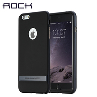 Original ROCK For Apple IPhone 6 6s Case 2015 New Hybrid PC TPU Back Cover Shell