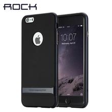 Оригинал ROCK Чехол Для Apple iPhone 7 6 6 s случае 2016 Новый гибридный PC ТПУ Задняя Крышка Для iPhone 7 6 s плюс случаи С розничной коробке