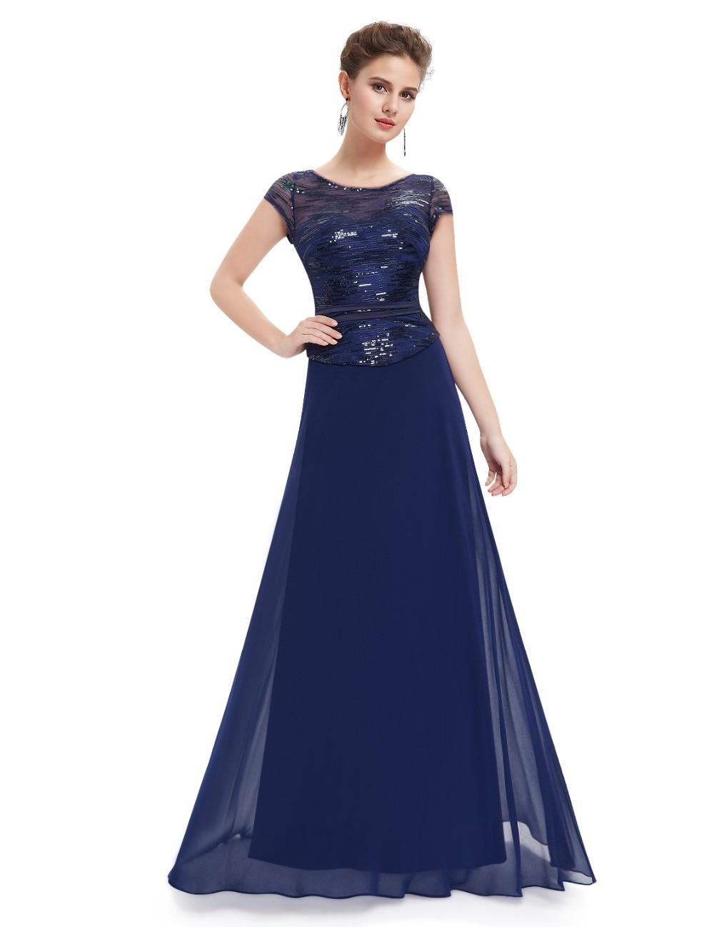 Short Sleeve Navy Blue Mother of the Bride Dresses Ever Pretty ... c9a6e31a8454
