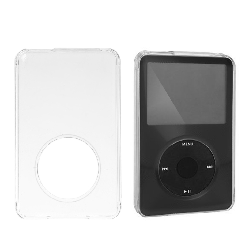 Portable High Quality 80G 120G 160G PC Transparent Classic Hard Case For iPod