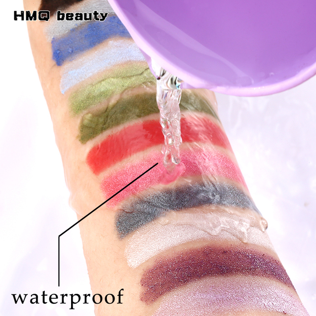 12 Colors Highlighter Glitter Eyeshadow Eyeliner Pen makeup durable Waterproof  sweatproof Double-Ended Eyes Pencil Makeup 2