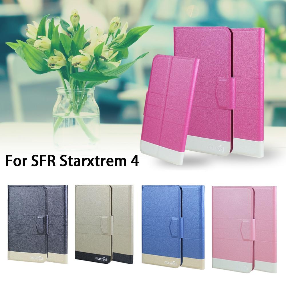 ①5 colores estupendos! SFR starxtrem 4 teléfono Funda de cuero ...
