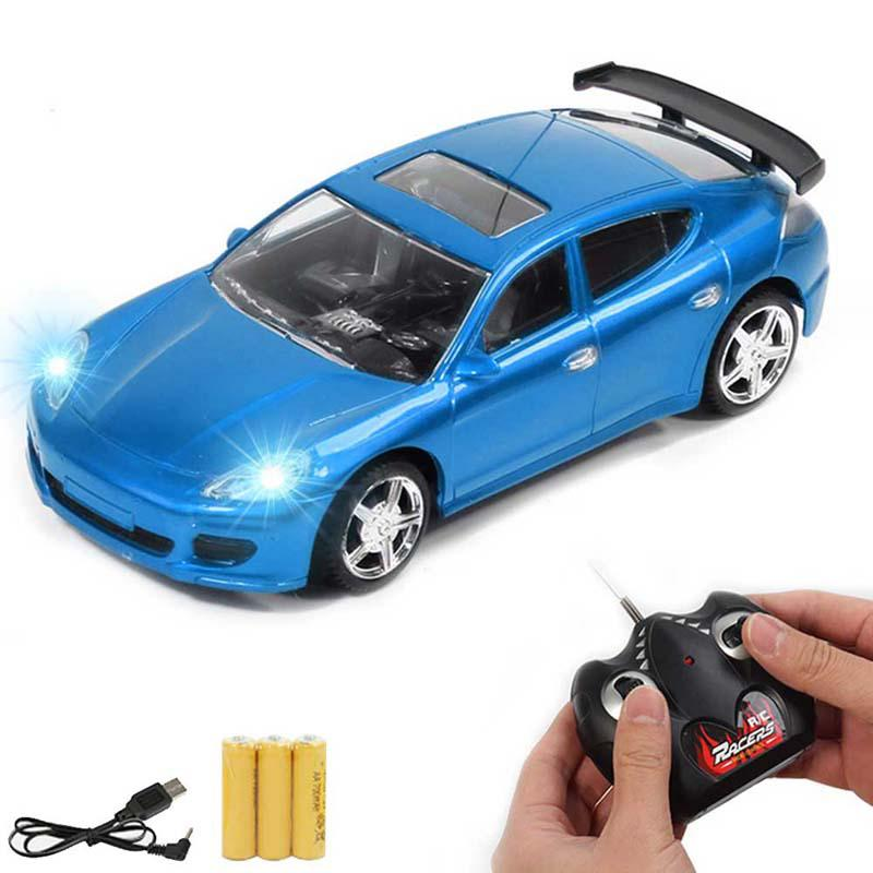 Image 3 - Children RC Racing Car Rechargeable Radio Remote Control Simulation Car with Light Model Toy Vehicle for Kids-in RC Cars from Toys & Hobbies