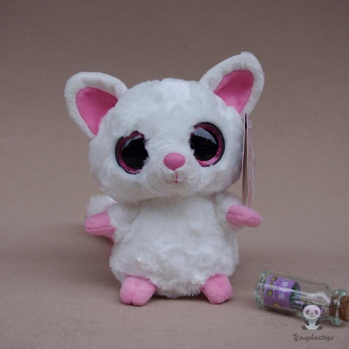 Cute Kids Toys Big Eyes Sand Fox Doll Plush Toy Dolls Good Quality Gifts Shops