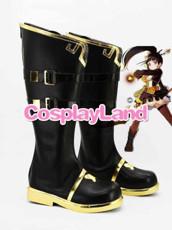 ELSWORD Ara Haan Little Devil Cosplay Boots Shoes Anime