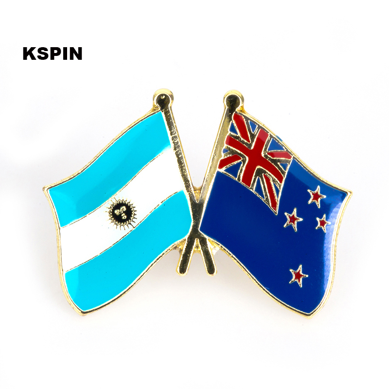 Arts,crafts & Sewing Fast Deliver Australia Ireland Friendship Flag Label Pin Metal Badge Badges Icon Bag Decoration Buttons Brooch For Clothes 1pc