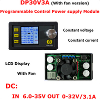 DP30V3A Constant Voltage and Current Step down Programmable Power Supply Module Buck Voltage Converter LCD Display Voltmeter