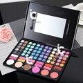 78 Colores de Maquillaje de Sombra de Ojos Colorete Shadding Lipgloss Corrector En Polvo Sombra de Ojos