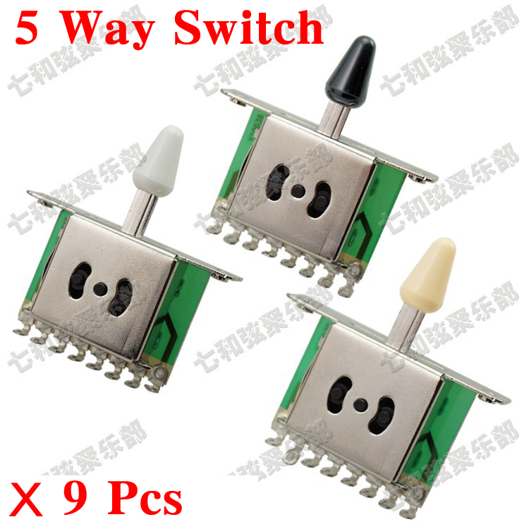 Beautiful Stratocaster Wiring Mods Tiny Ibanez 5 Way Switch Wiring Rectangular 3 Way Switch Guitar How To Install A Car Alarm With Remote Start Young 3 Humbucker Strat Dark3 Pickup Guitar Aliexpress.com : Buy 9 Pcs 5 Way Selector Switches Pickup Toggle ..