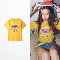 New Summer Korean Fashion T Shirt Men Hip Hop High Street Skateboard Kiss My Ass Beautiful Girl Print Funny Top Tee