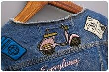 Baby Girls Coats Denim Jacket