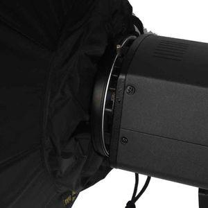 Image 5 - 100cm 화이트 휴대용 접을 수있는 아름다움 접시 옥타곤 Softbox Bowens 마운트 Bowens godox 스튜디오 플래시