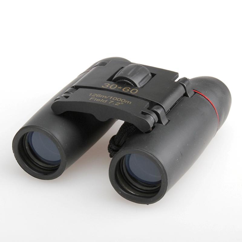 10x126 M/1000 m telescopio binocular plegable 30x60 viajes de escalada camping senderismo telescopio dual lente óptica de enfoque