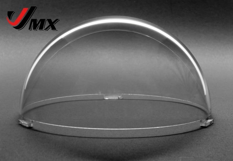 JMX 4 INCH Acrylic Indoor / Outdoor CCTV Clear Camera Dome Housing Security Camera Housing mini 4 inch cctv 100x 540tvl 256 preset 3 8 38mm indoor camera