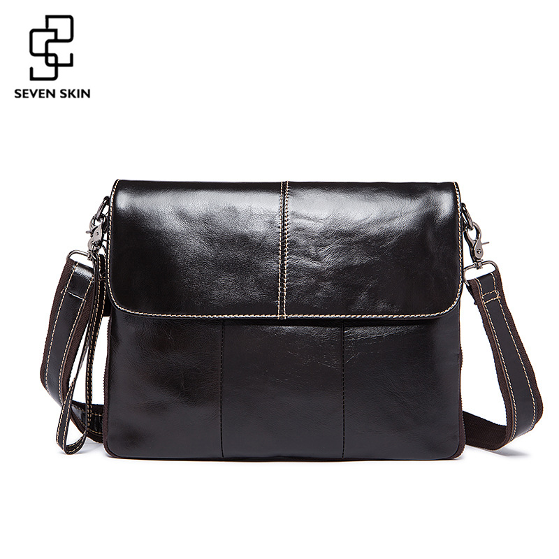 100% Genuine Cowhide Leather Messenger Bag Men Fashion Vintage Design Crossbody Shoulder Bag Male Business Handbag Satchel Tote men and women bag genuine leather man crossbody shoulder handbag men business bags male messenger leather satchel for boys