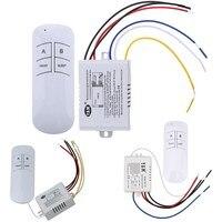 Receptor de interruptor de Control remoto inalámbrico, Control transmisor, lámpara interior, piezas de repuesto para el hogar, 1/2/3 vías, 220V