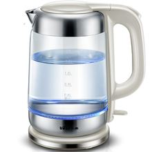 Free shipping Glass electric kettle Domestic large capacity power automatic stainless steel Electric kettles