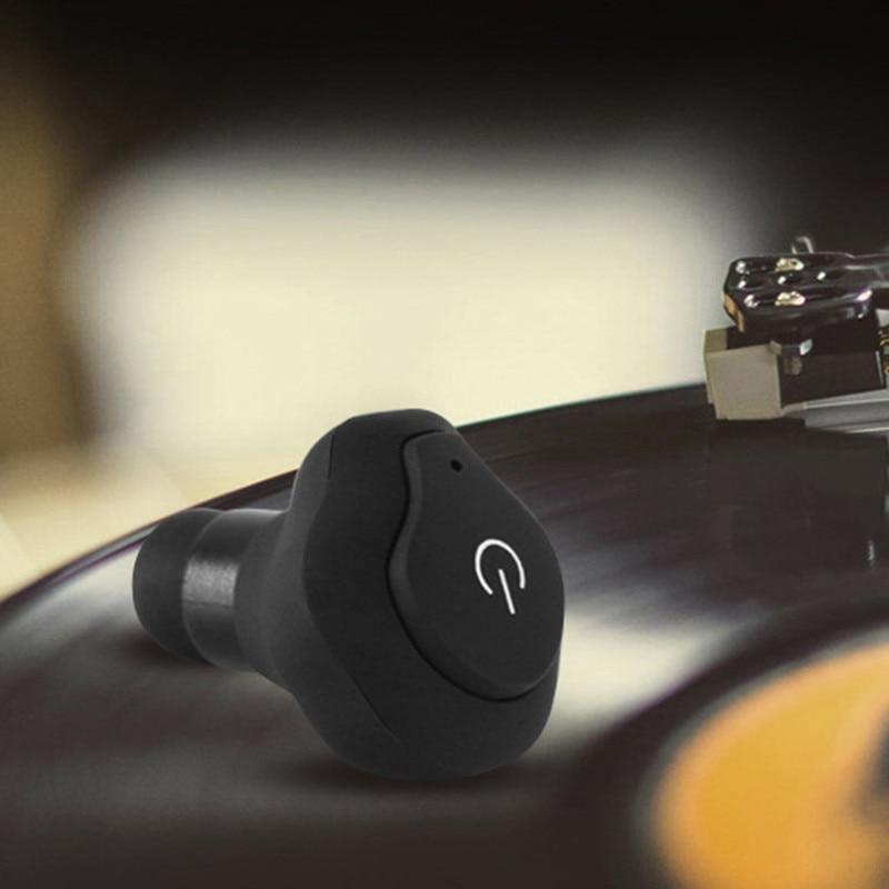 Mini TWS Bluetooth V4.2 Earphone Earbuds Stereo Sport Wireless Noise Cancelling In-Ear Headset with Microphone new kz zs3 in ear headphones stereo headset ear hook running sport earphone noise cancelling earbuds headphones with microphone